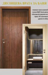 Алуминиеви врати за баня